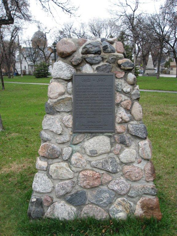 Cairn in Joe Zuken Heritage Park